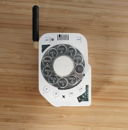 Justine Haupt: Rotary Cellphone