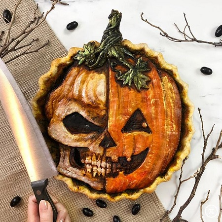 Spooky Halloween Pies By Jessica Leigh Clark-Bojin